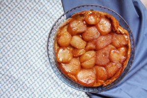 recept tarte tatin omgekeerde appeltaart