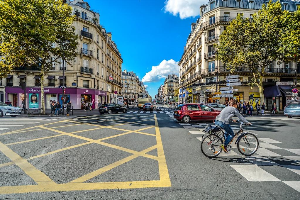 verdwalen in parijs