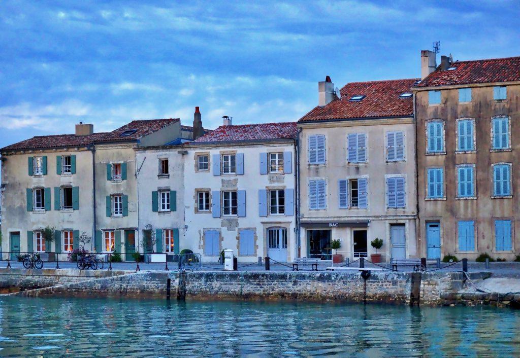 bezoek ile de ré haven eiland rochelle blanche