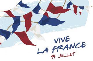 wat vieren fransen op 14 juli
