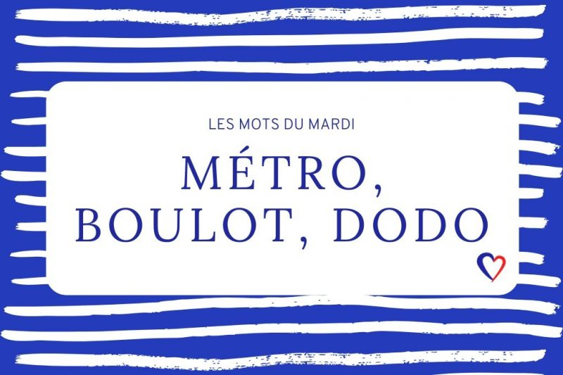 betekenis metro boulot dodo