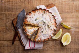amandel citroen taart