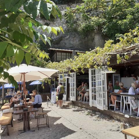 restaurant strand cote d'azur
